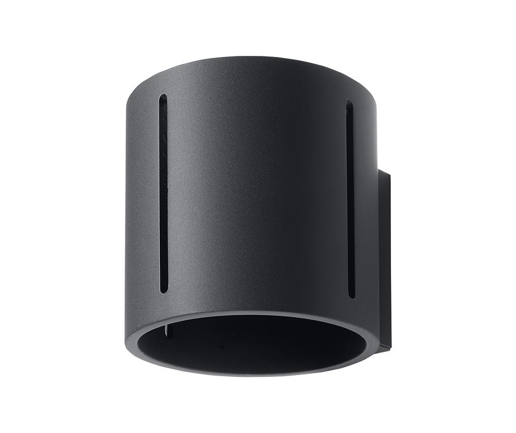 Aplica de perete Vulco Black - Nice Lamps, Negru imagine