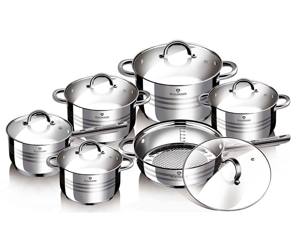 Set vase pentru gatit 12 piese Gourmet imagine