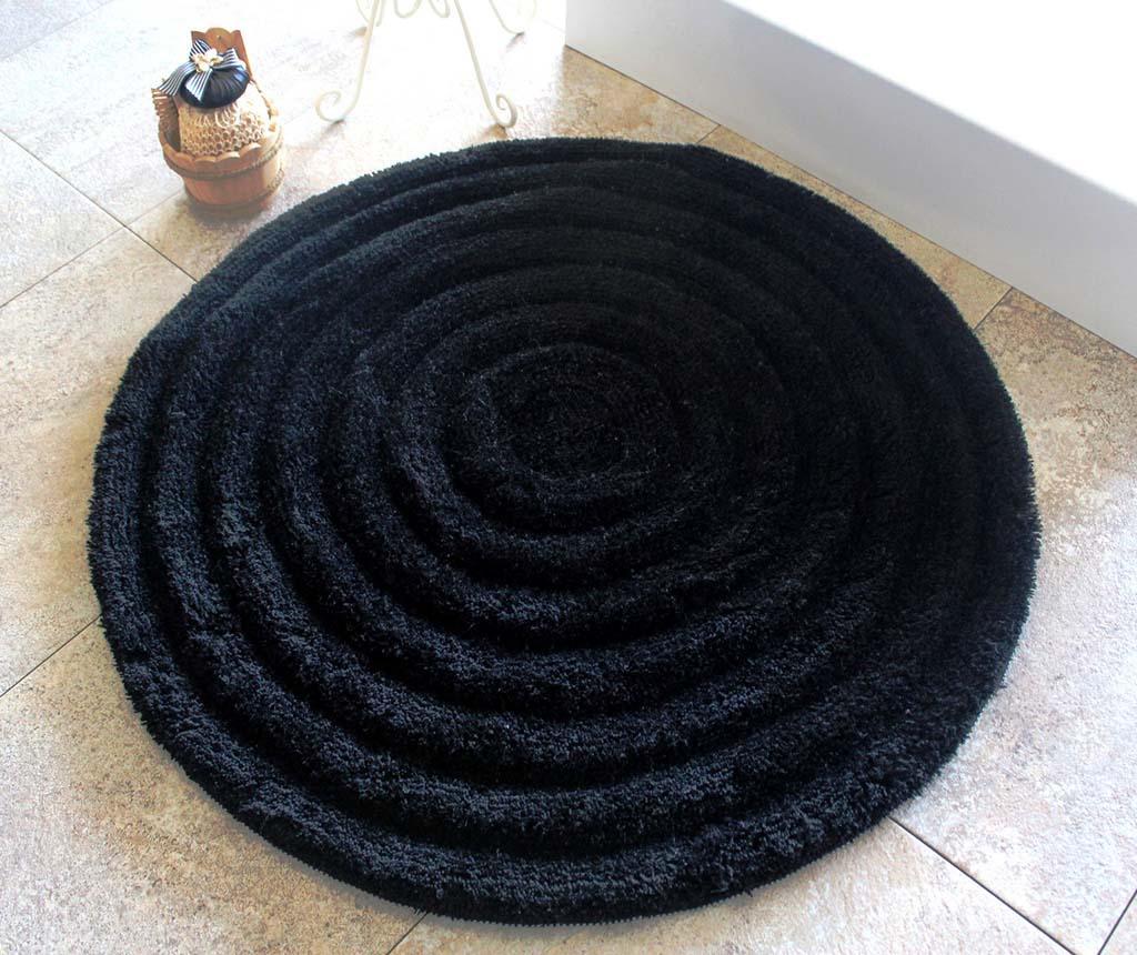 Covoras de baie Alessia Black 90 cm imagine