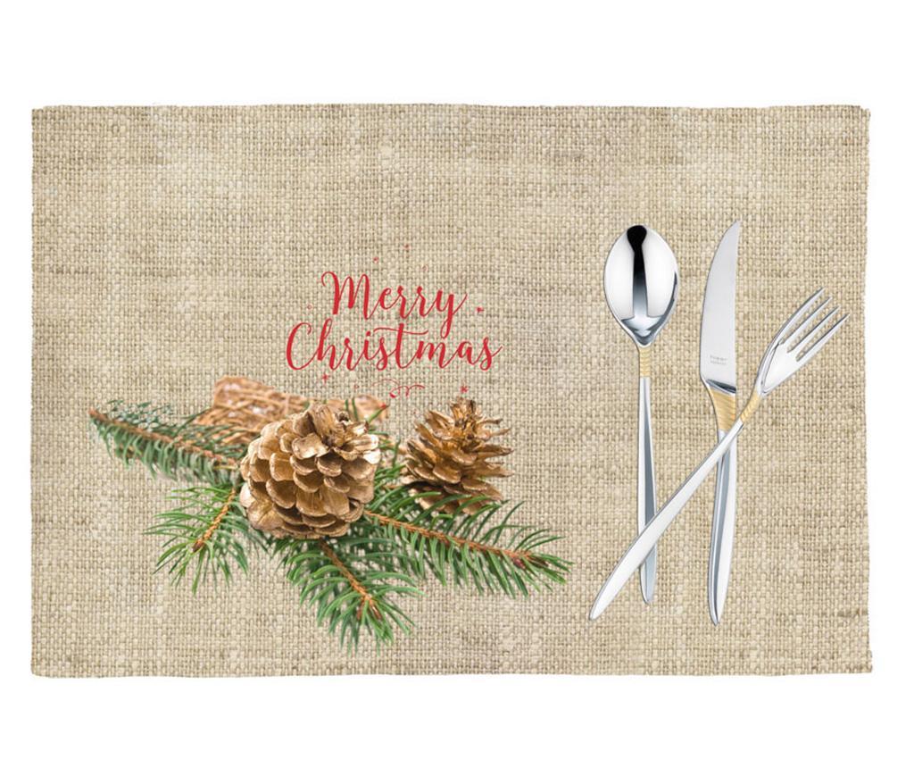 Set 2 individualuri Christmas Delight 33x45 cm