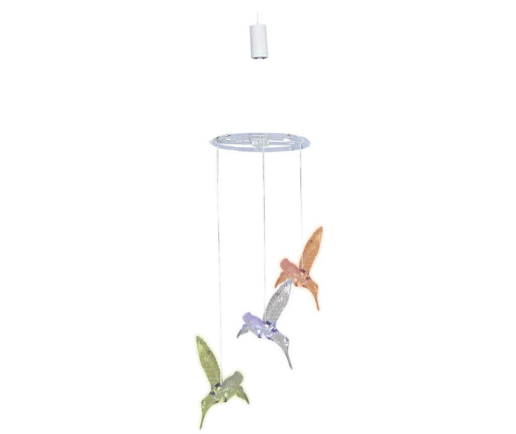 Decoratiune suspendabila luminoasa Kolibri Flock - Näve, Multicolor