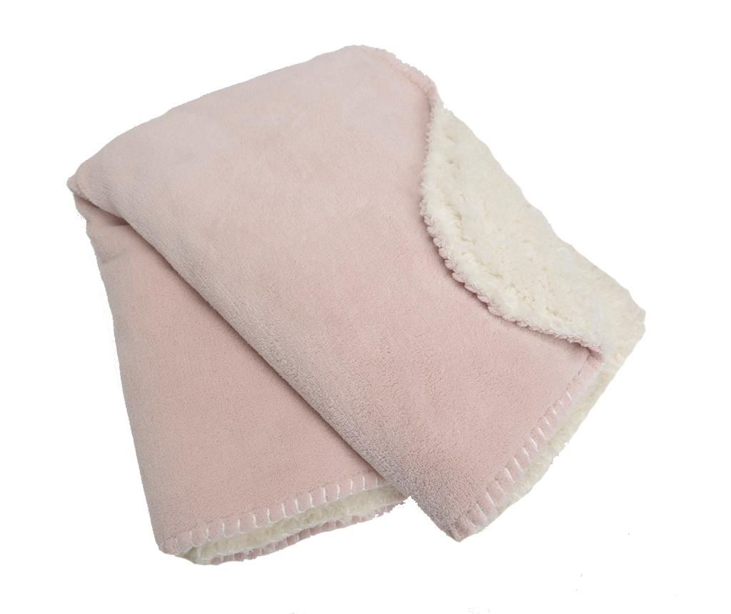 Pled Cocoon Pink 75x100 cm