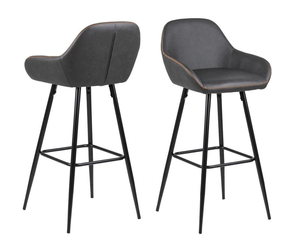 Set 2 scaune de bar Candis - actona