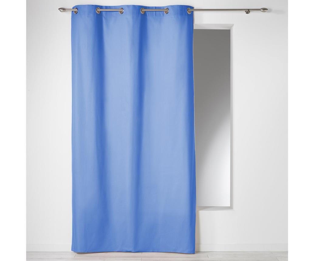 Draperie Panama Blue 140x280 cm