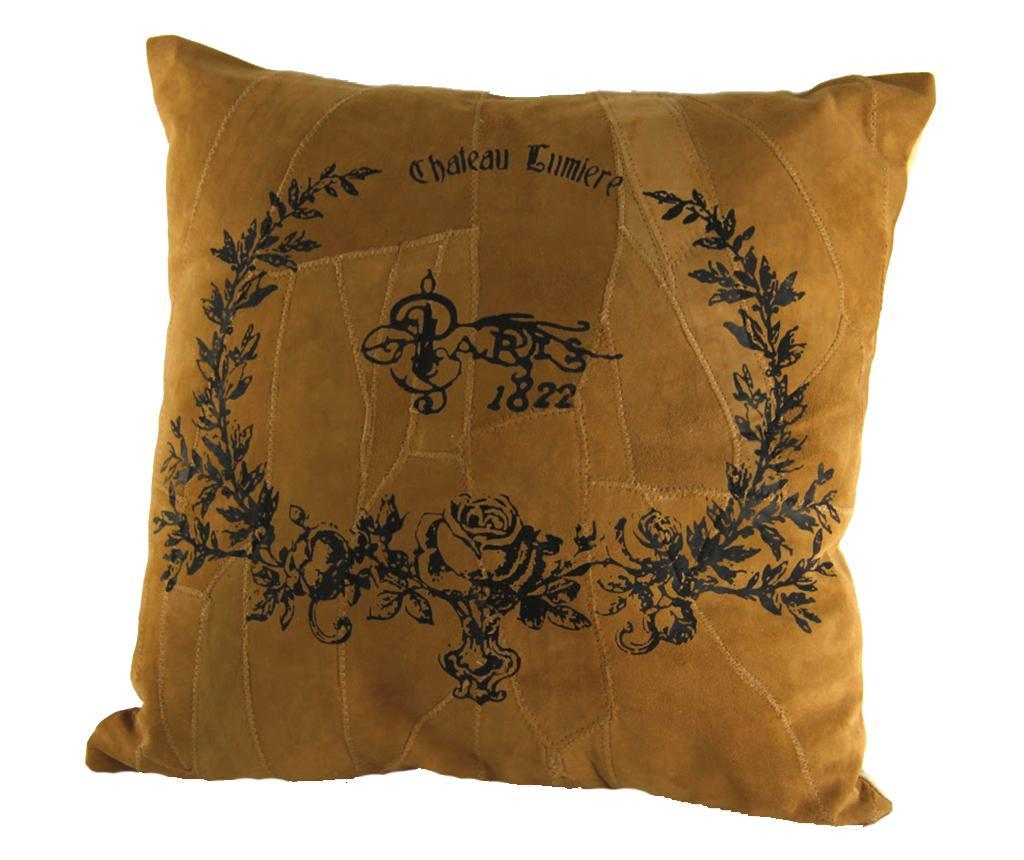 Perna decorativa English Cottage 40x40 cm - Royal Family, Galben & Auriu poza