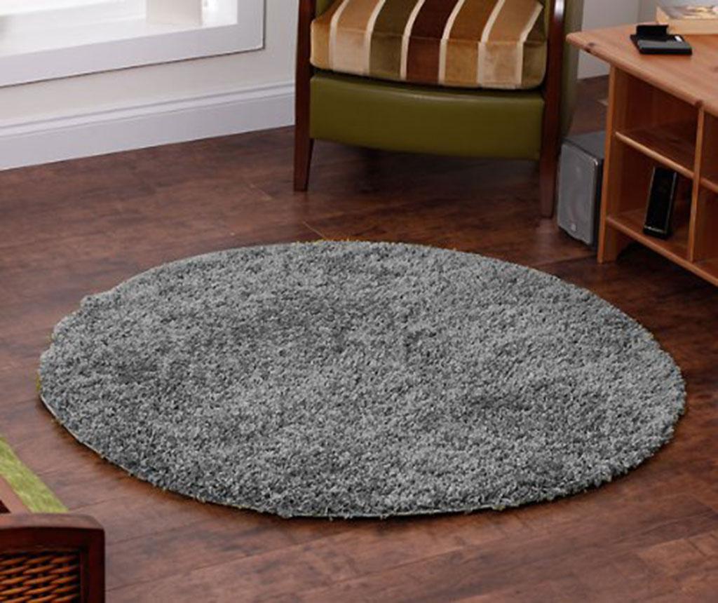 Covor Vista Circle Silver 133 cm - Think Rugs, Gri & Argintiu vivre.ro