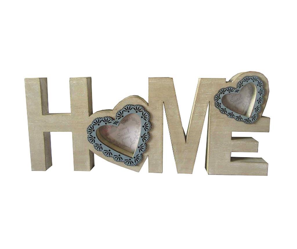 Decoratiune cu 2 rame foto Home imagine