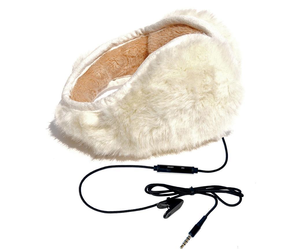 Casti hi-Ear Pouf White imagine