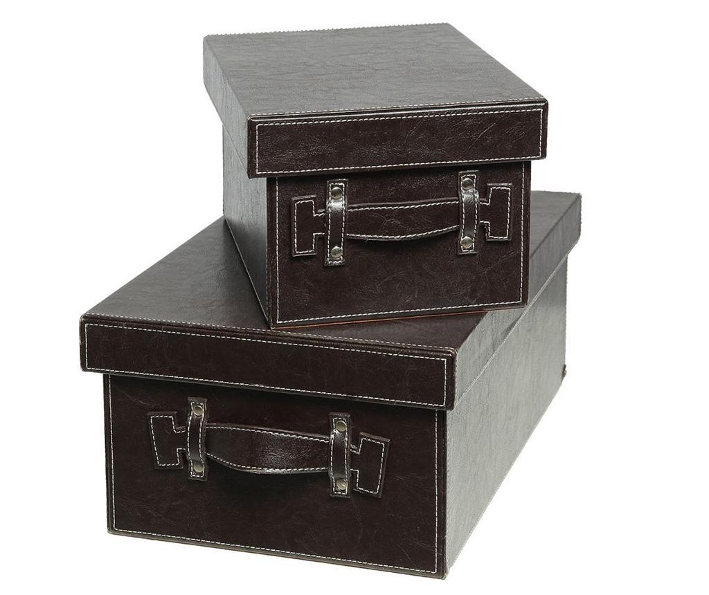 Set 2 cutii cu capac Melma imagine
