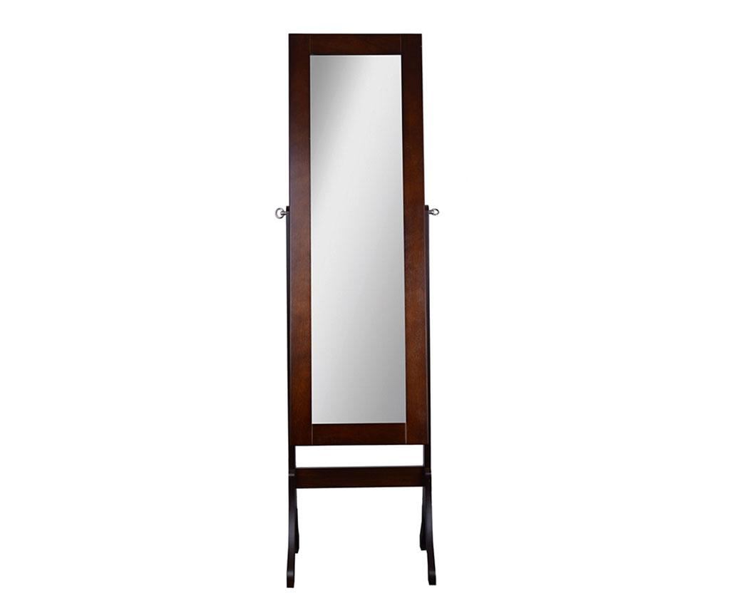 Oglinda de podea cu dulapior pentru bijuterii Frenka - EWAX