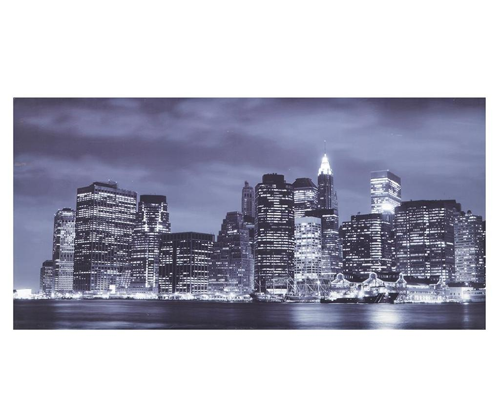 Tablou New York 80x160 cm - Tomasucci, Multicolor imagine