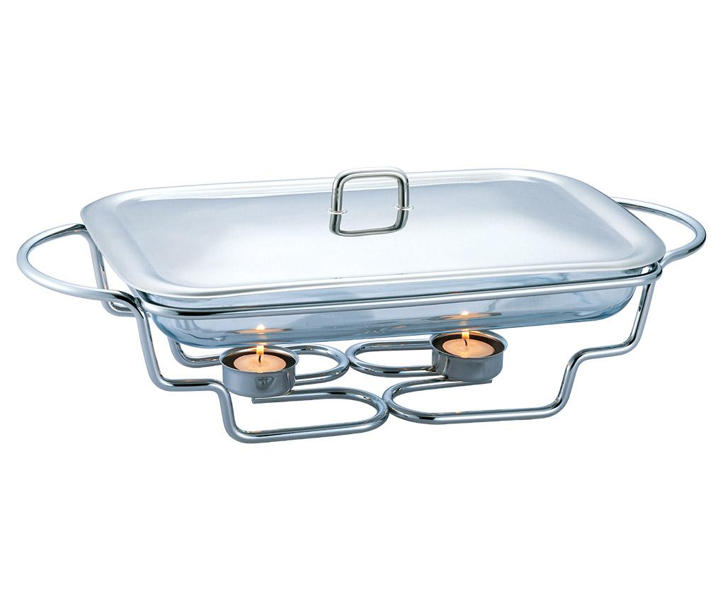 Vas cald dish Black Silver 3 L - Berlinger Haus, Gri & Argintiu imagine