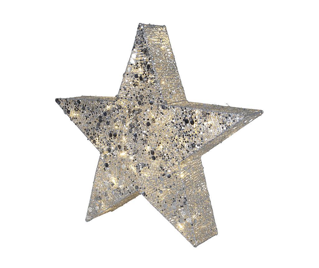 Decoratiune luminoasa pentru exterior Star With Sequins imagine