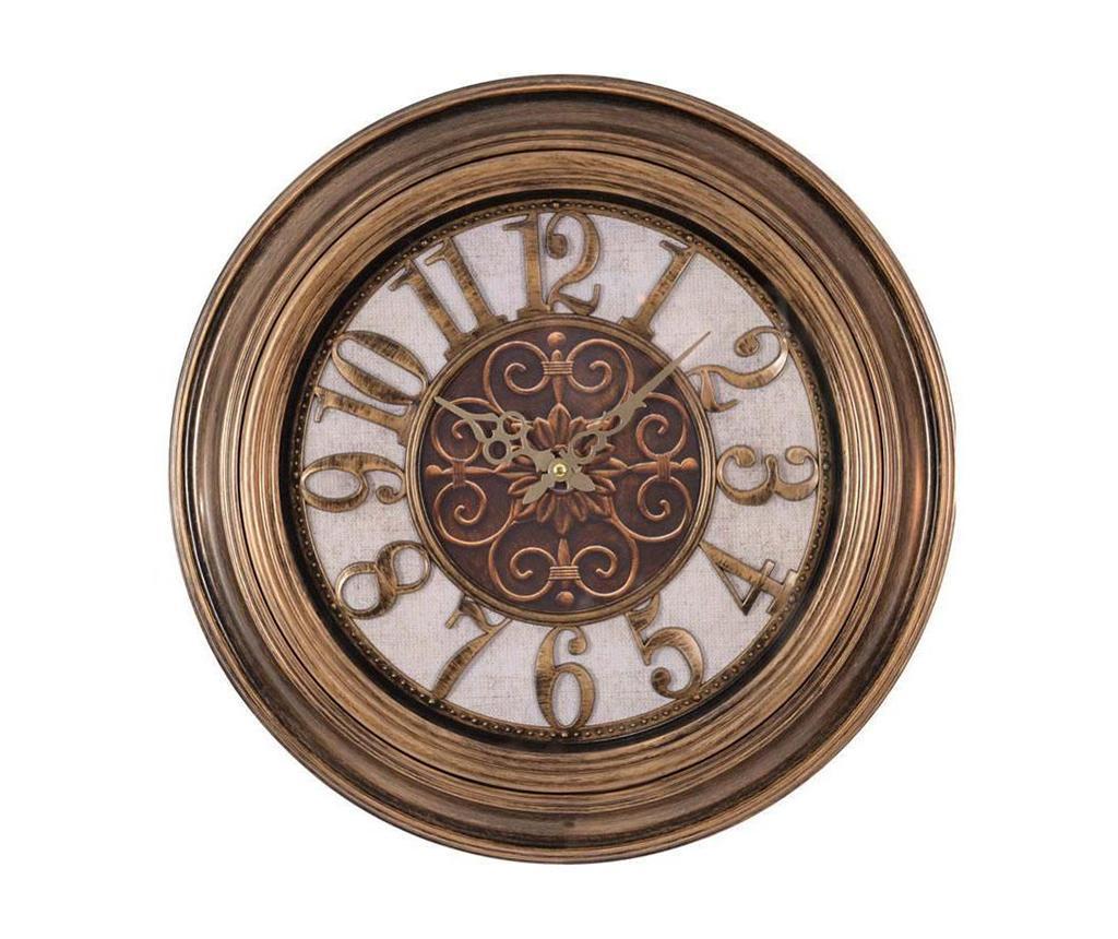 Nástěnné hodiny Antique Gold