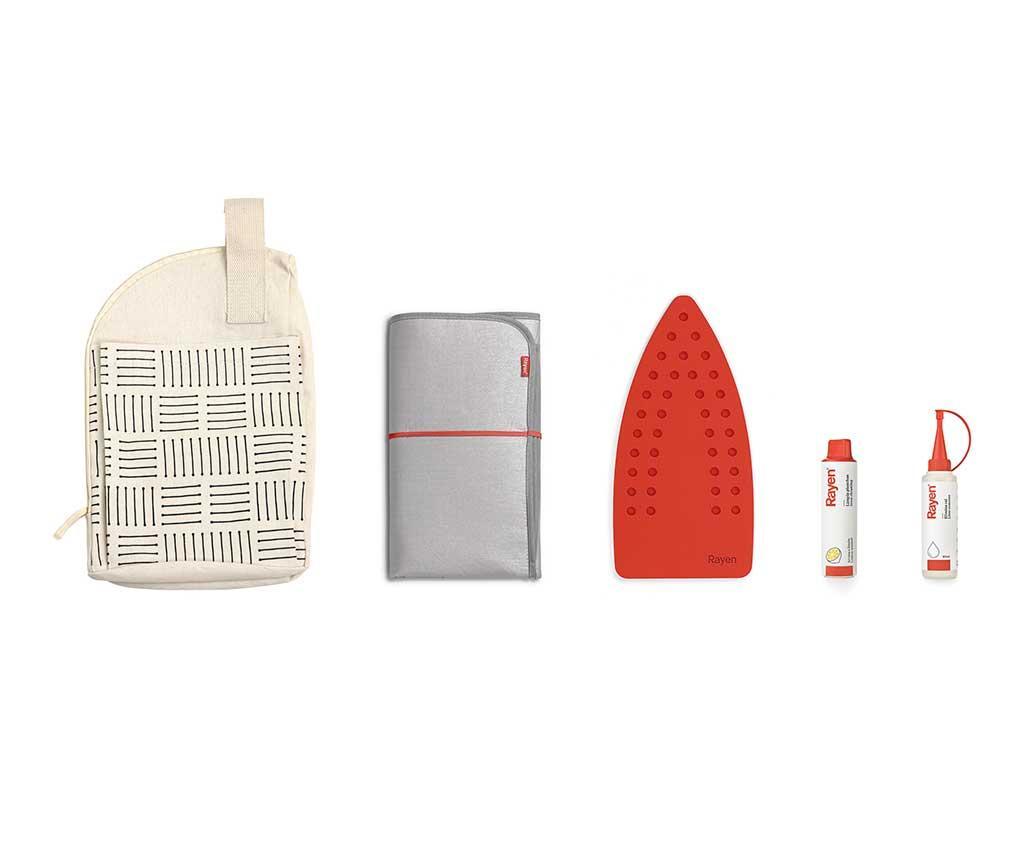 Set 5 accesorii pentru fier de calcat Easy Life - Rayen, Gri & Argintiu imagine