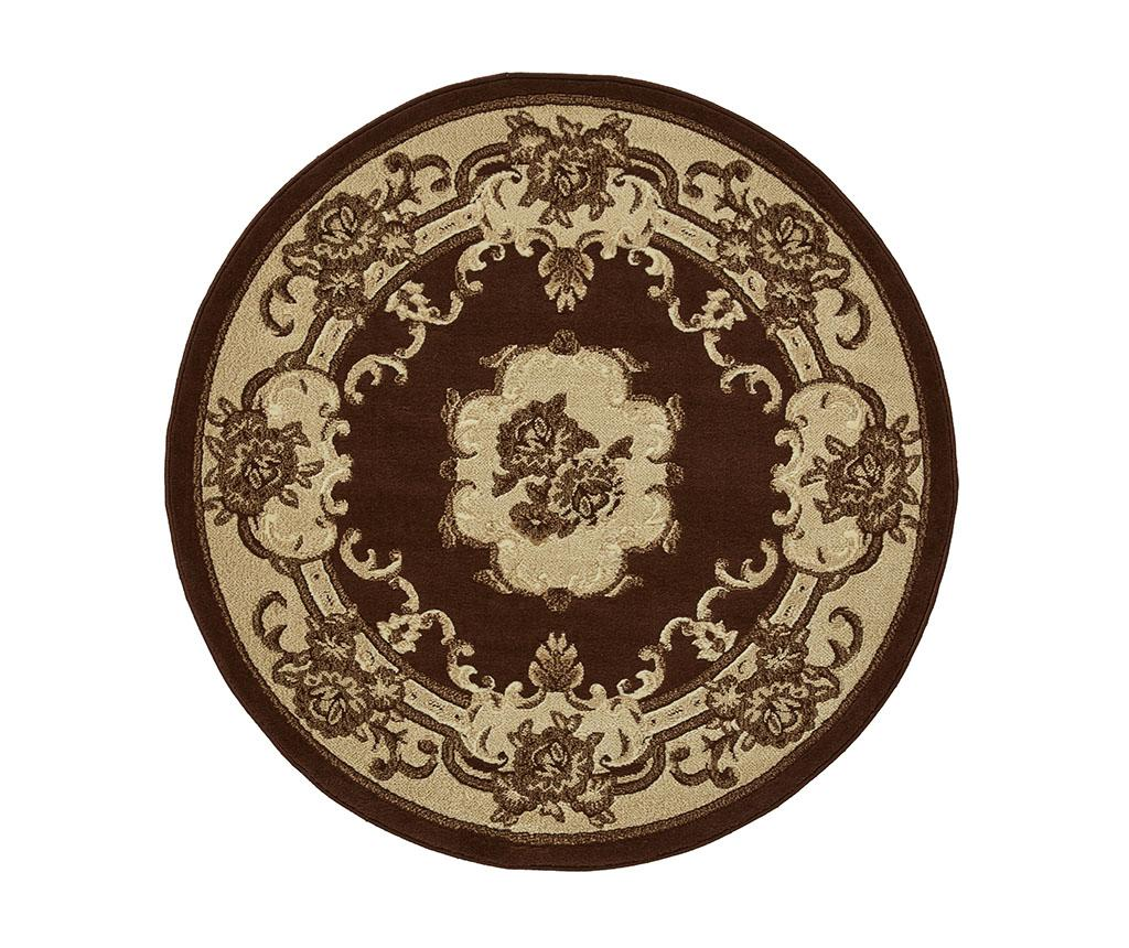 Covor Marrakesh Brown Circle 140 cm - Think Rugs, Maro imagine