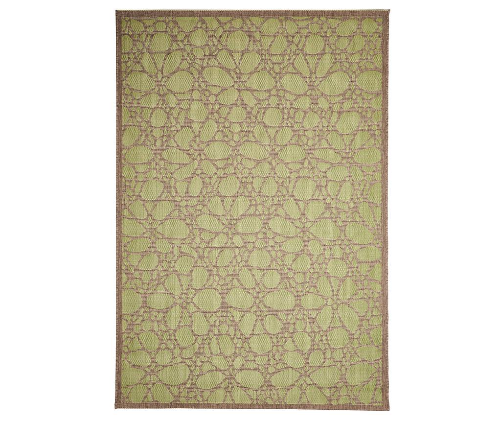 Covor Fiore Green 160x230 cm - Floorita imagine