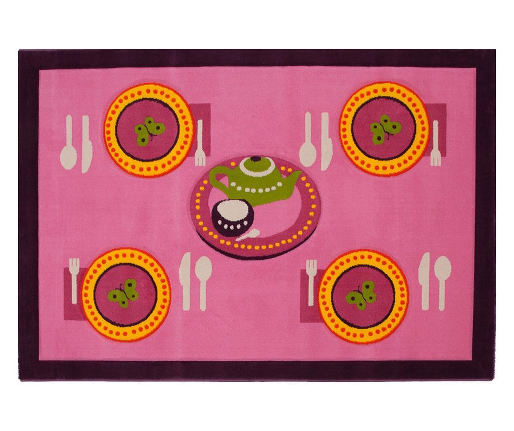 Covor Table Pink 100x150 cm imagine