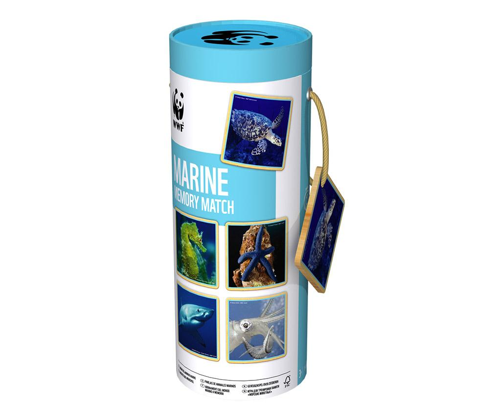 Joc de memorie Marine Matching – Juguetes BP, Albastru