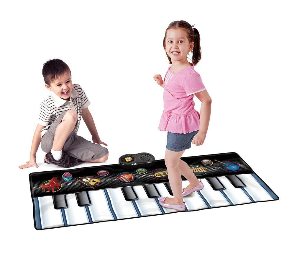 Covor muzical cu activitati Musical Keyboard 46x120 cm