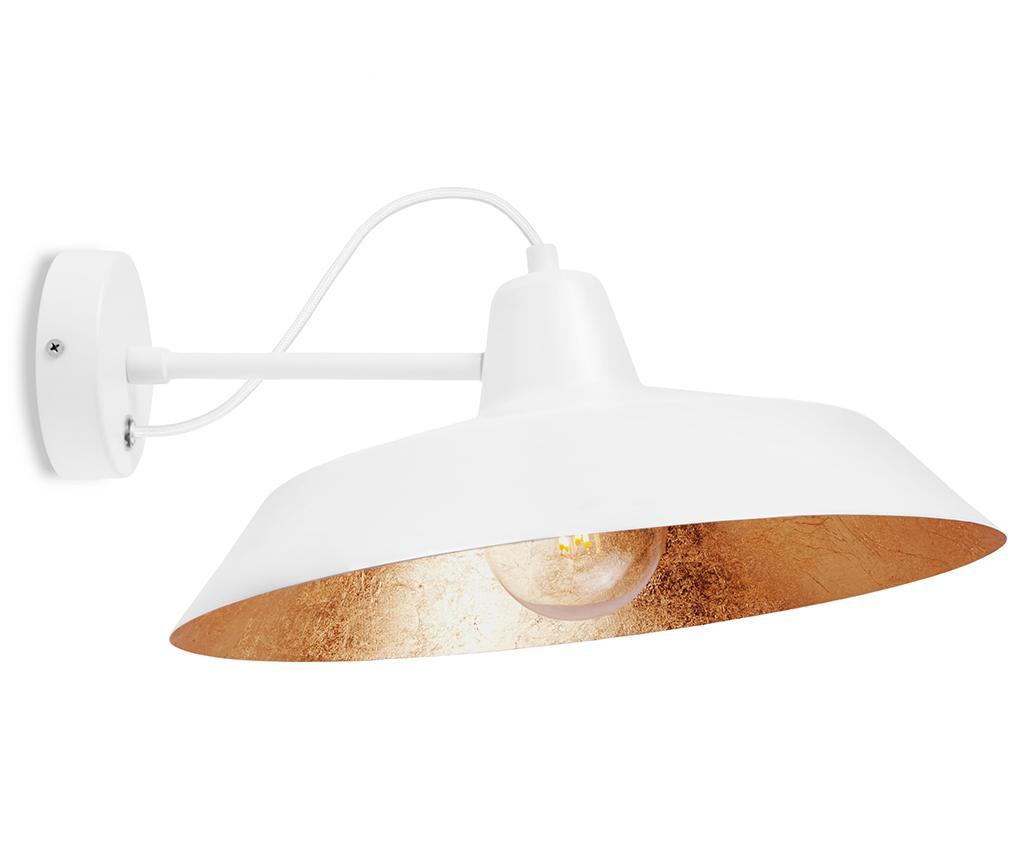 Aplica de perete Cinco White Copper - Bulb Attack, Alb