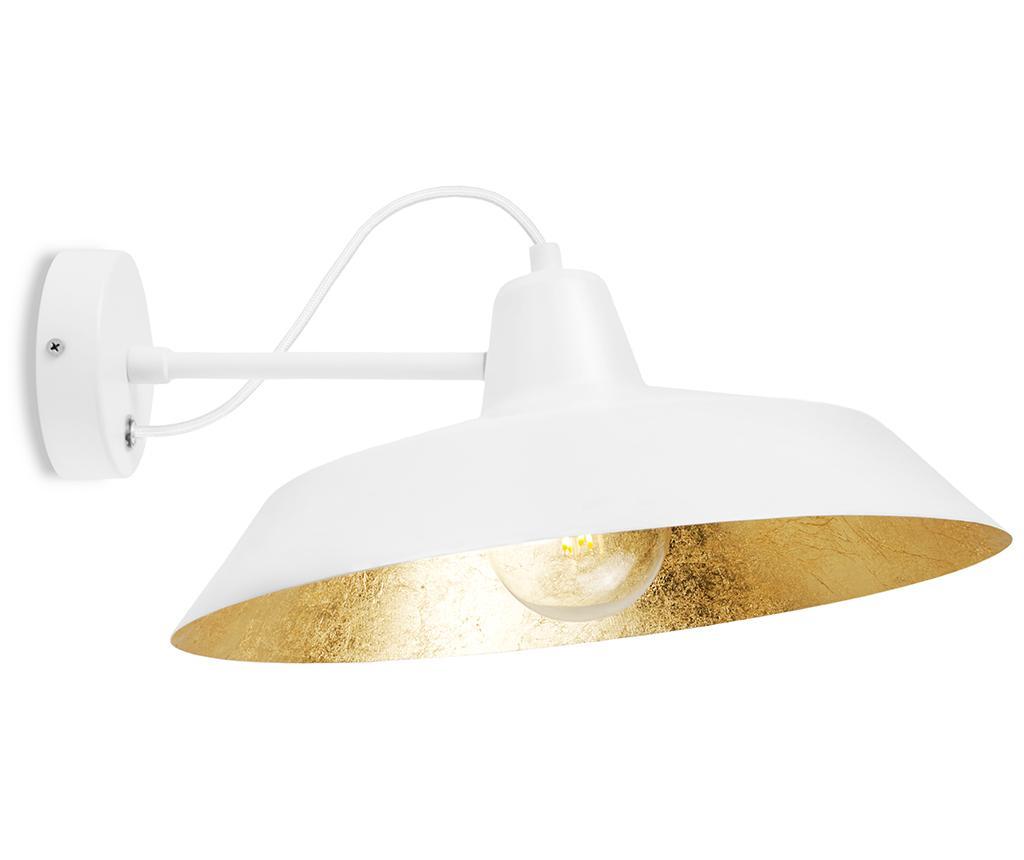 Aplica de perete Cinco White Gold - Bulb Attack, Alb