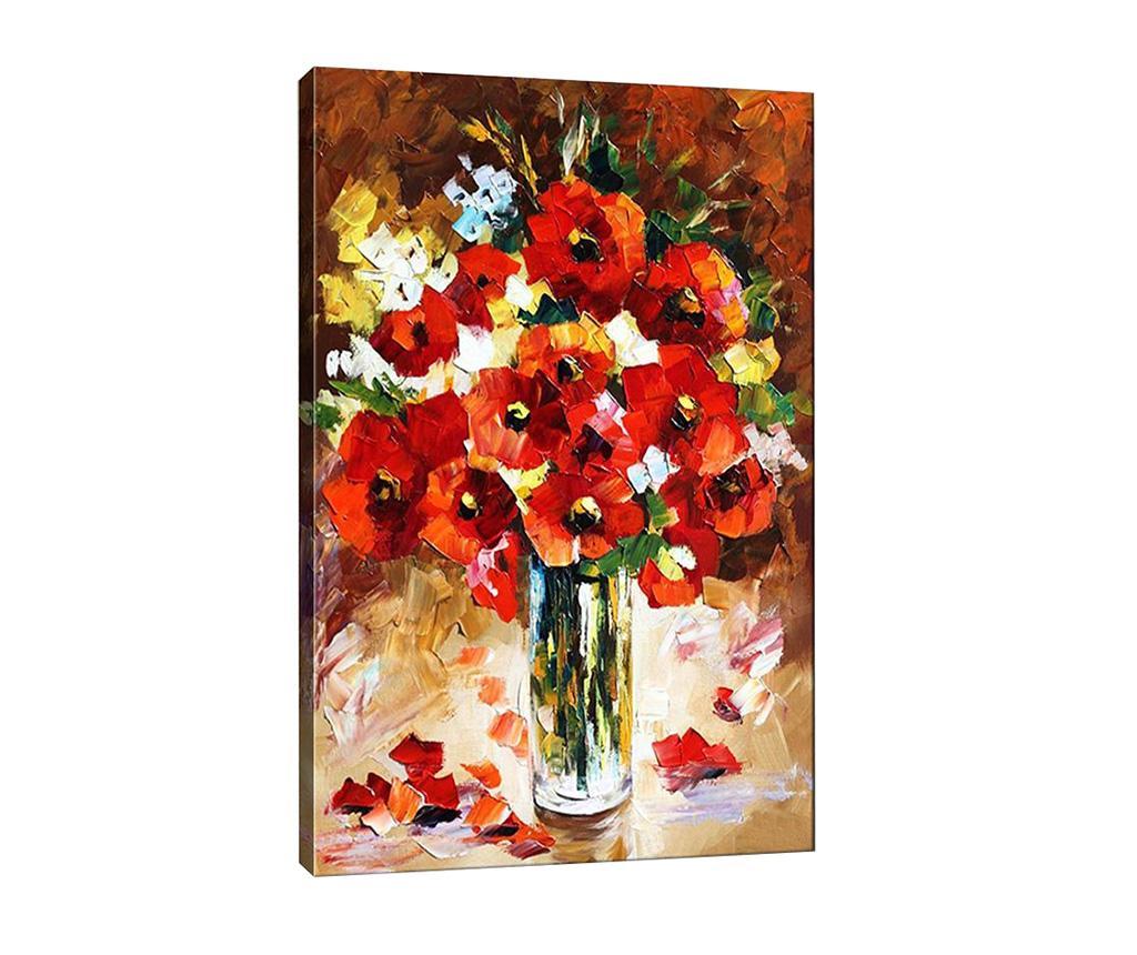 Tablou Poppy 40x60 cm - Tablo Center, Multicolor imagine