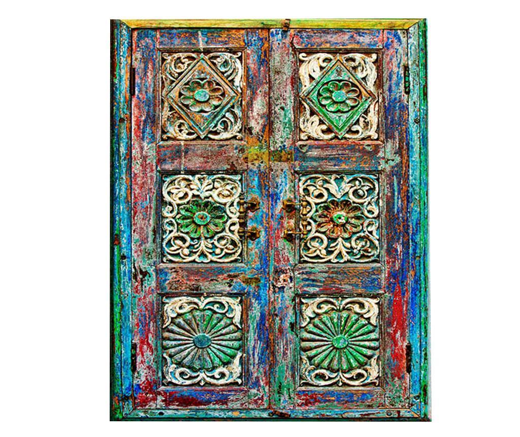 Tablou Rennaissance Gate 100x140 cm - Tablo Center, Albastru,Multicolor imagine