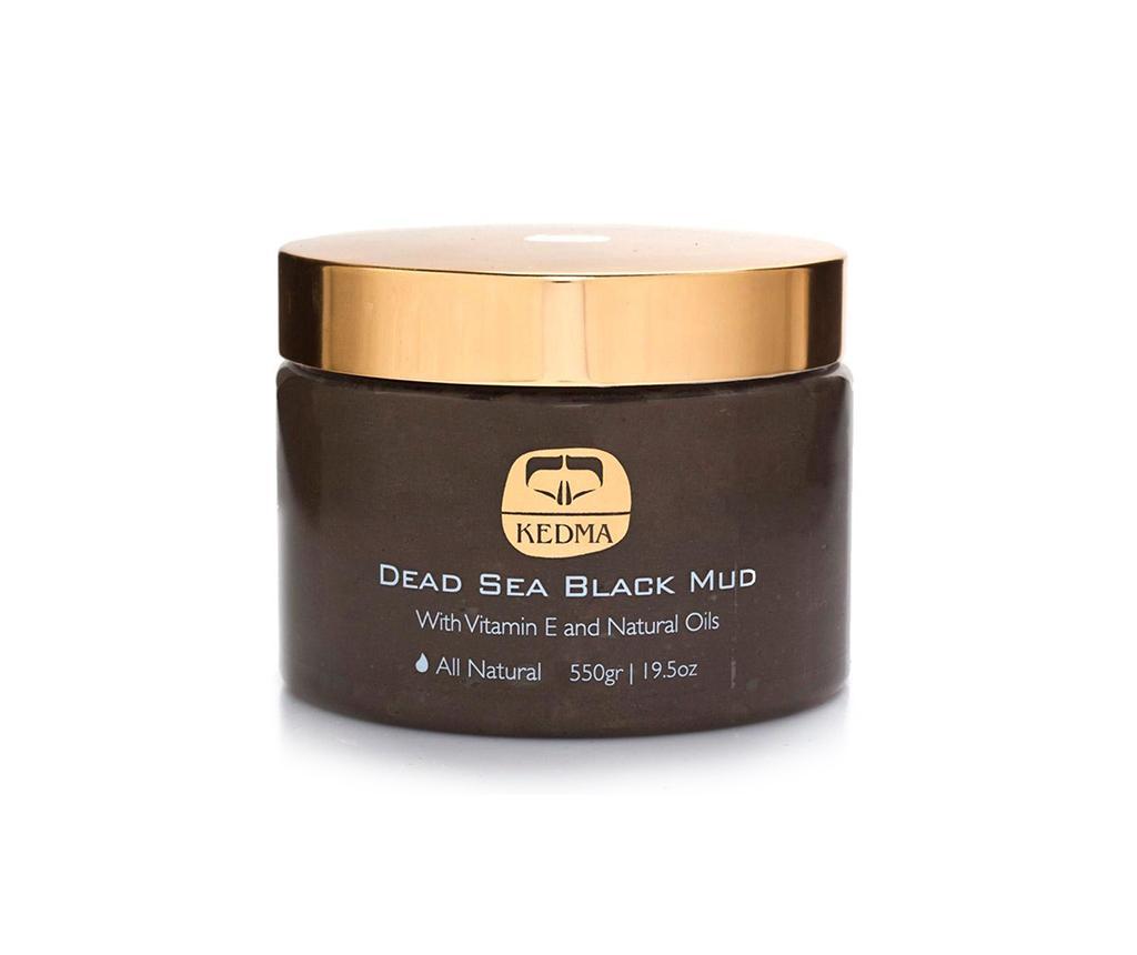 Masca cu namol pentru corp Kedma Black Mud 550 g