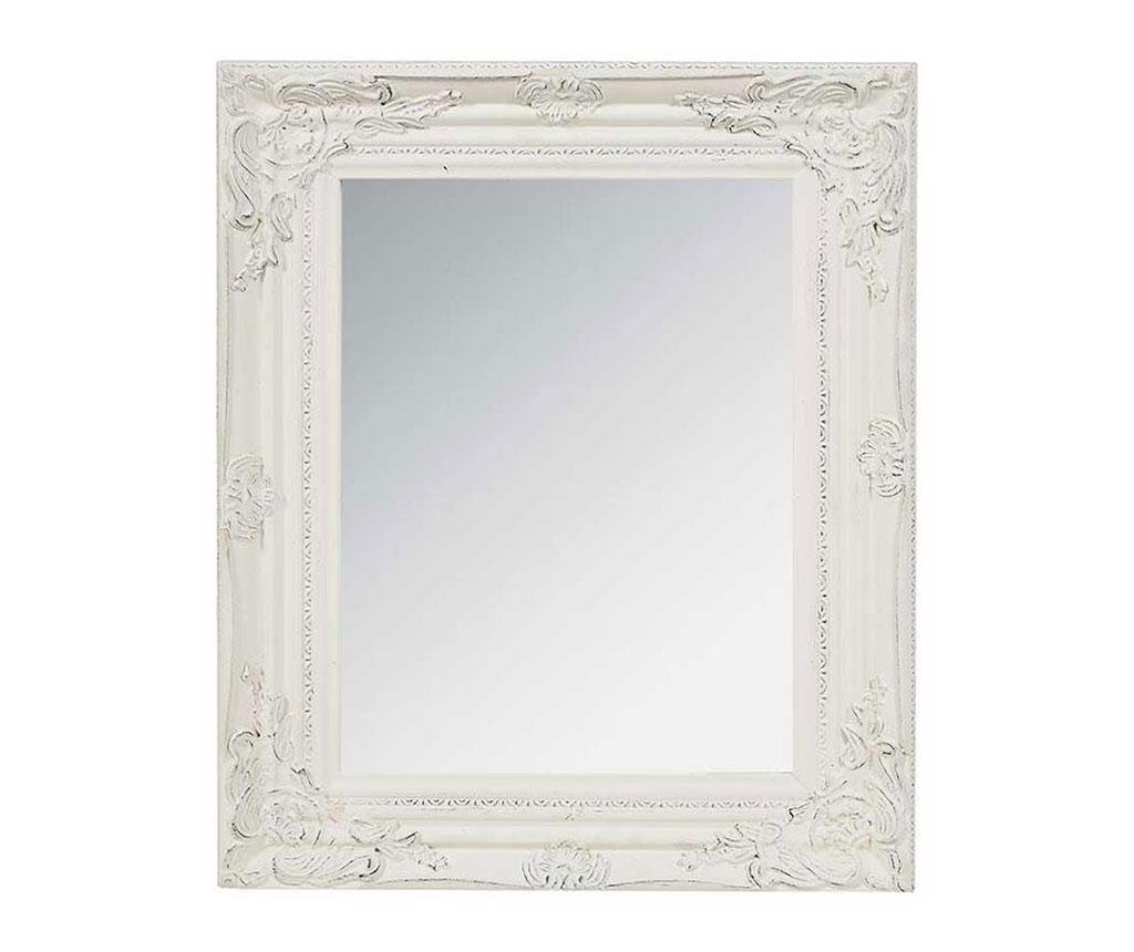Oglinda Antique Clara - inart, Alb poza
