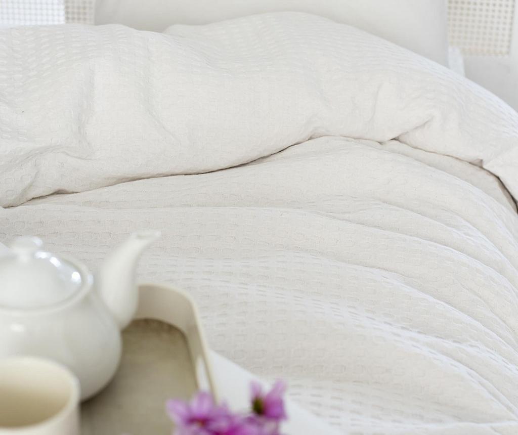 Cuvertura Pique Burum White 200x240 cm - Eponj Home, Alb imagine