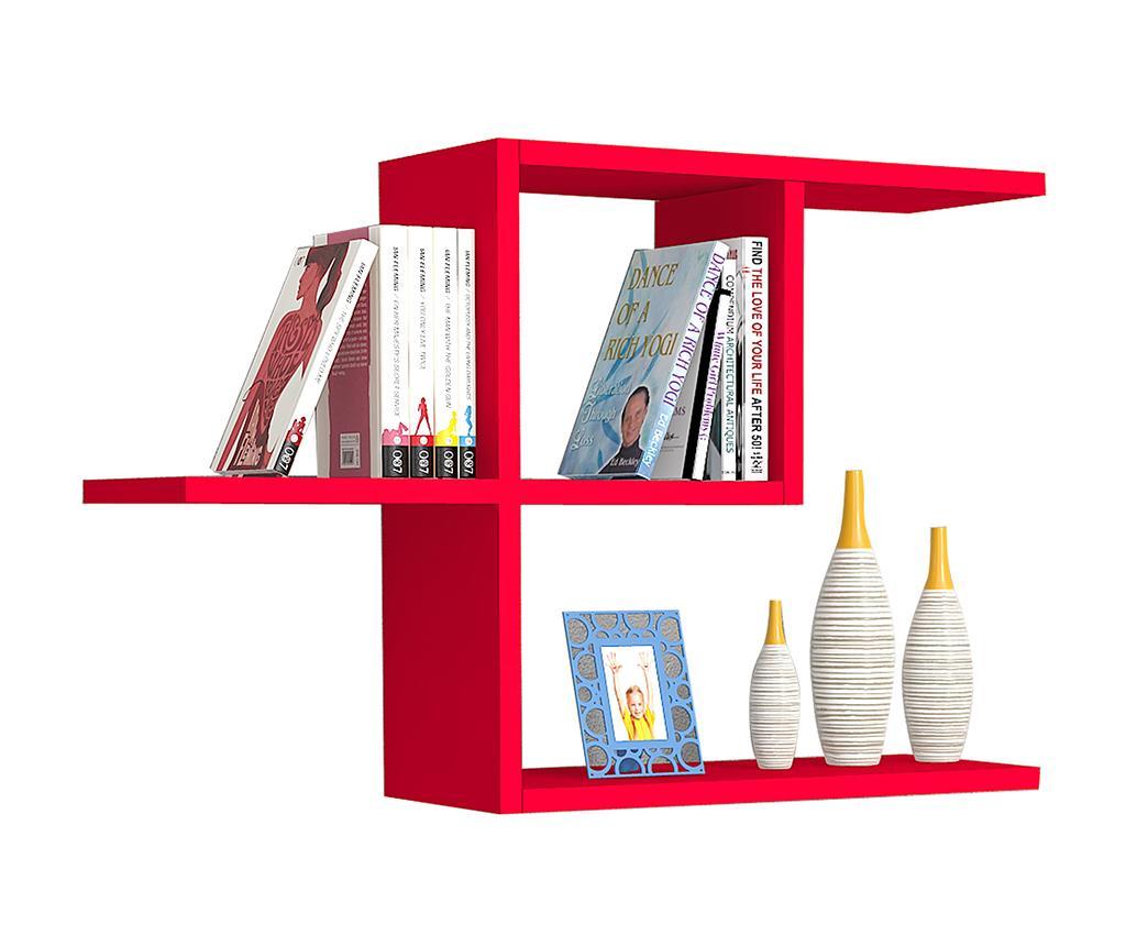 Raft de perete Half Red - Oyo Concept, Rosu vivre.ro