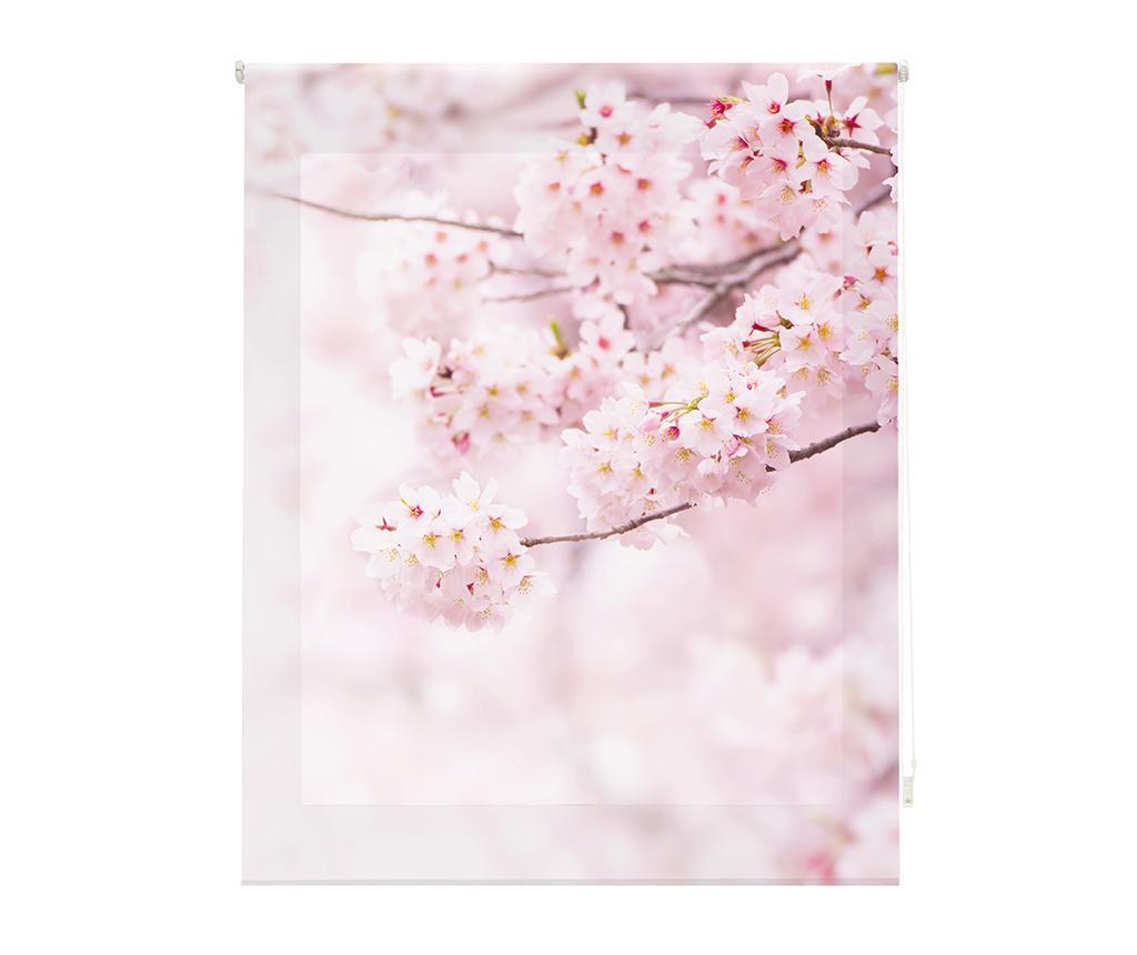 Jaluzea tip rulou Cherry Blossom 120x180 cm imagine
