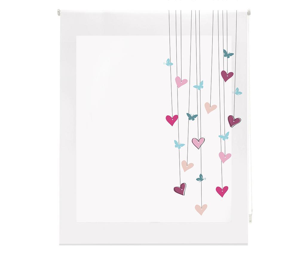 Jaluzea tip rulou Little Hearts 160x180 cm imagine