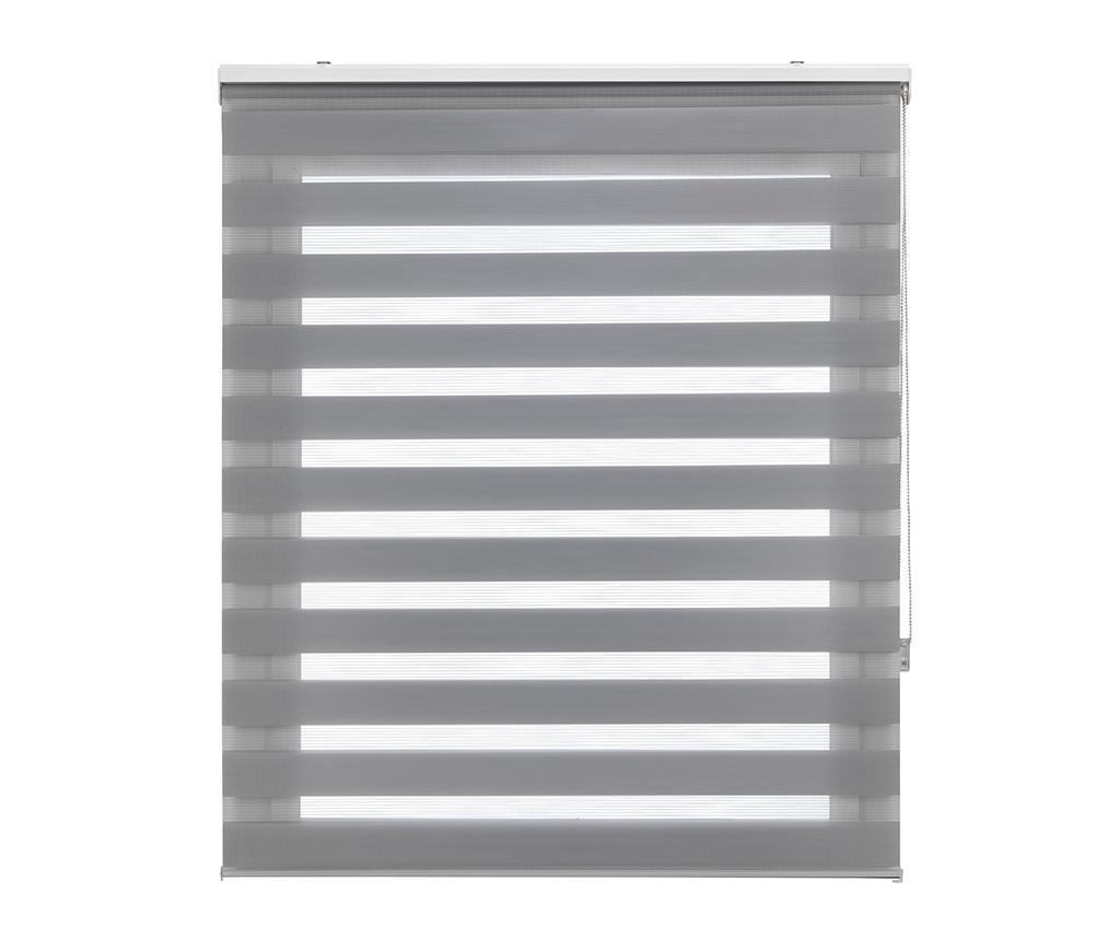 Jaluzea tip rulou Lira Gris 180x250 cm - Blindecor, Gri & Argintiu imagine