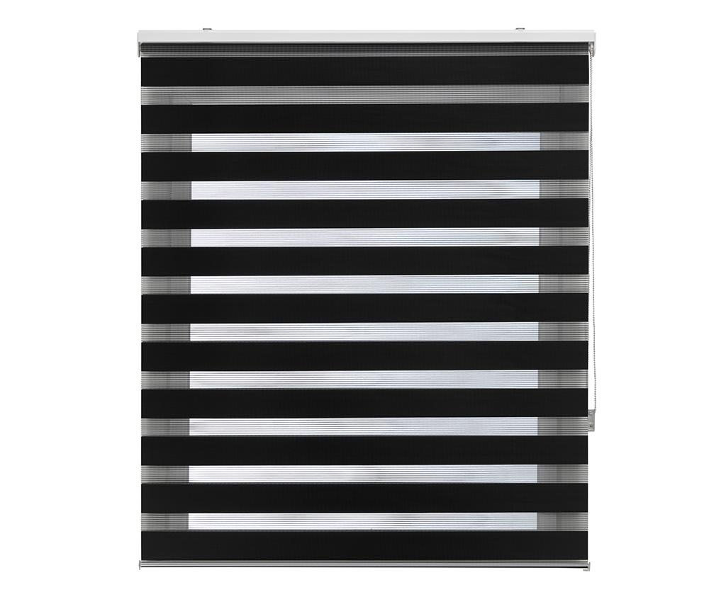 Jaluzea tip rulou Lira Negro 180x180 cm - Blindecor, Negru imagine