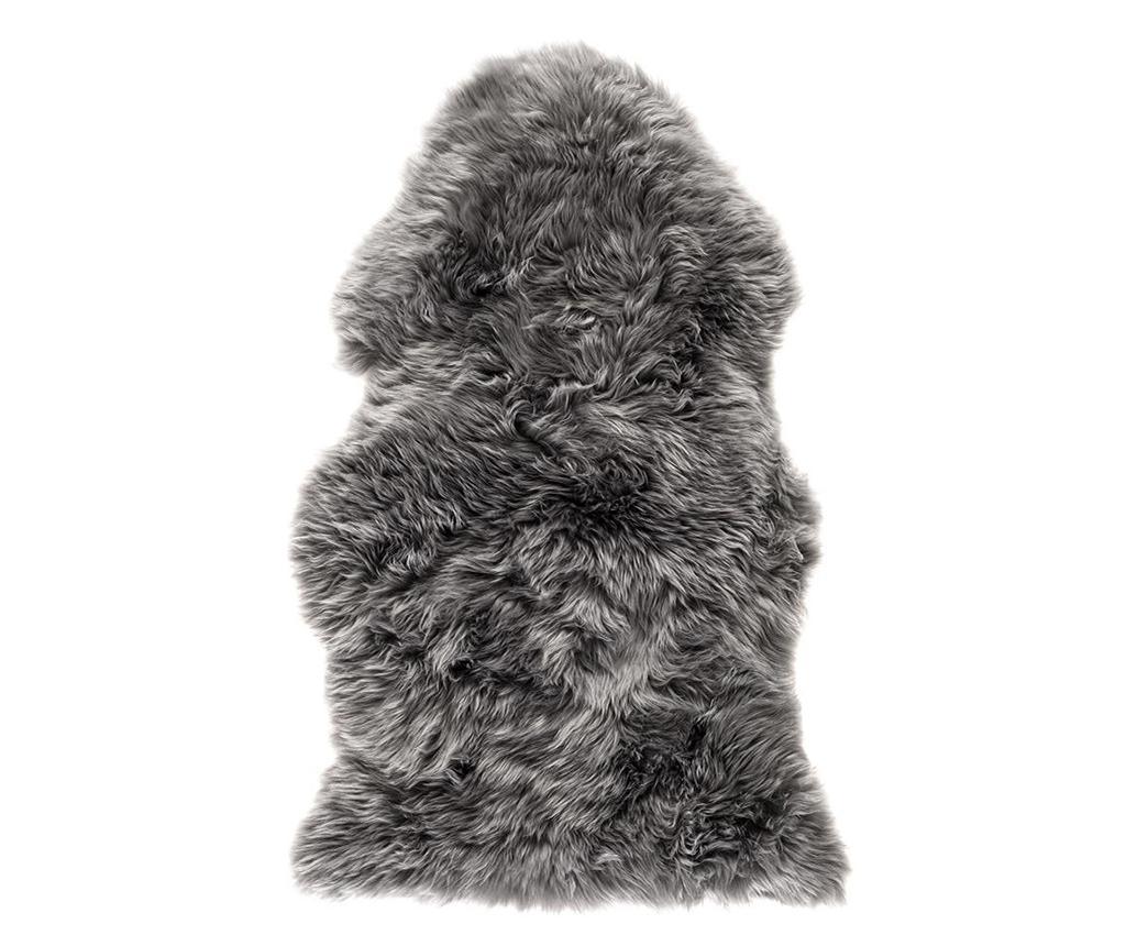 Blana de oaie Leedo Grey 60x120 cm - Royal Dream, Gri & Argintiu imagine