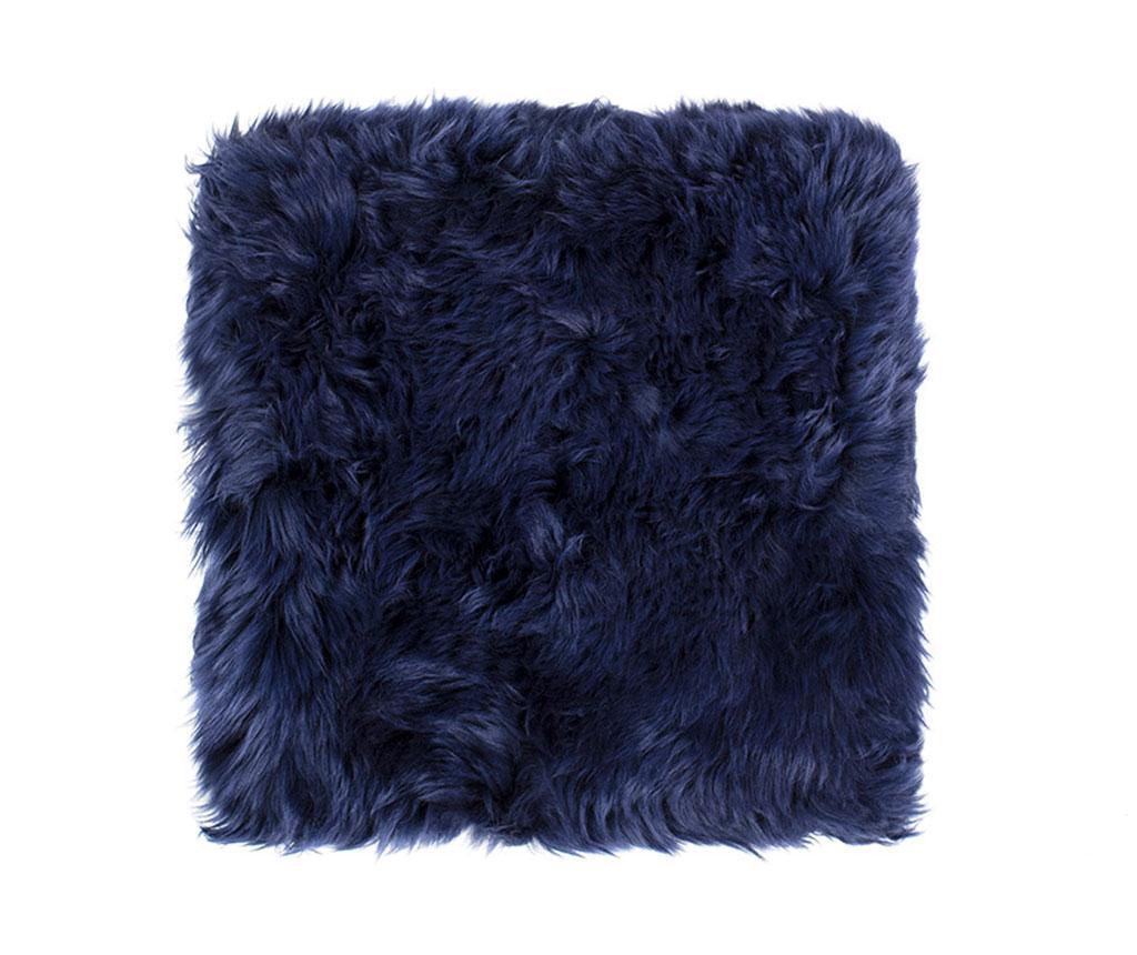 Perna de sezut Fluffy Blue 40x40 cm - Royal Dream, Albastru