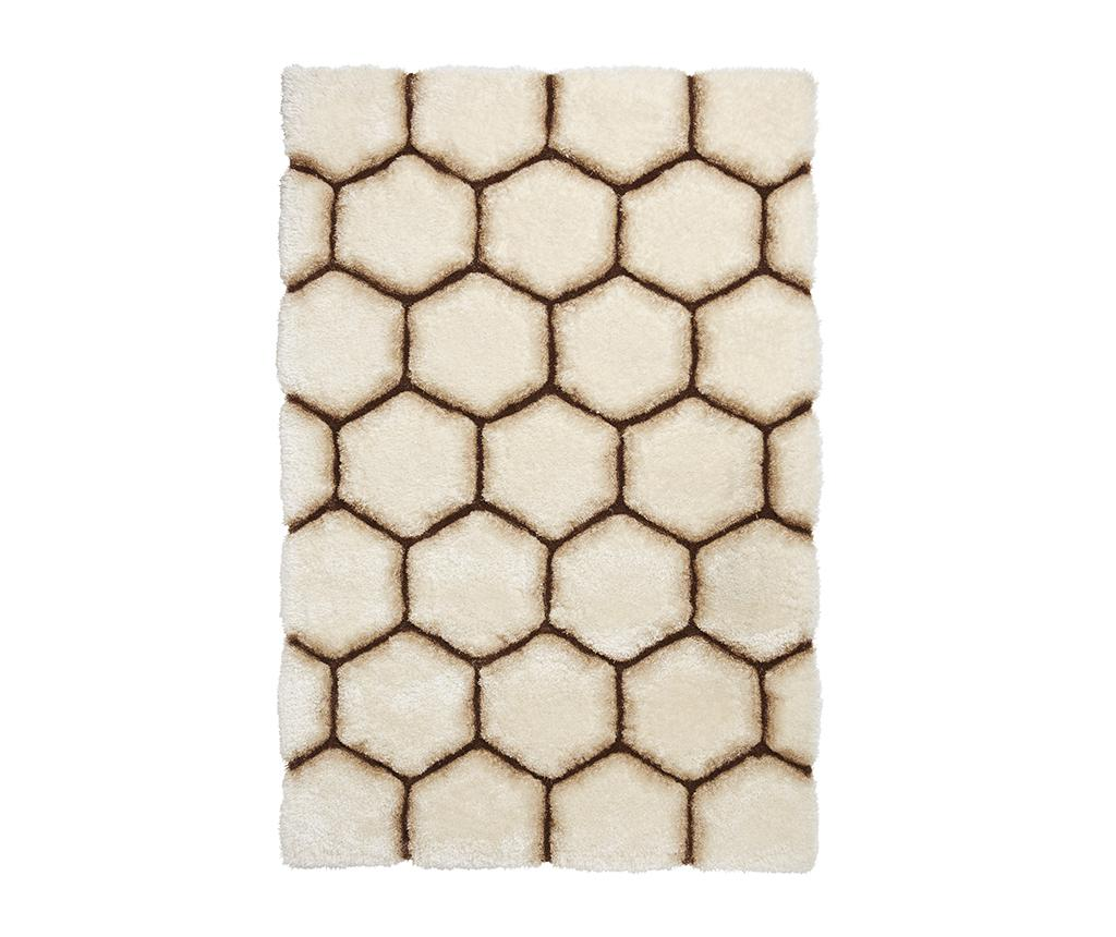Covor Noble House Comb Cream Brown 150x230 cm - Think Rugs, Crem imagine