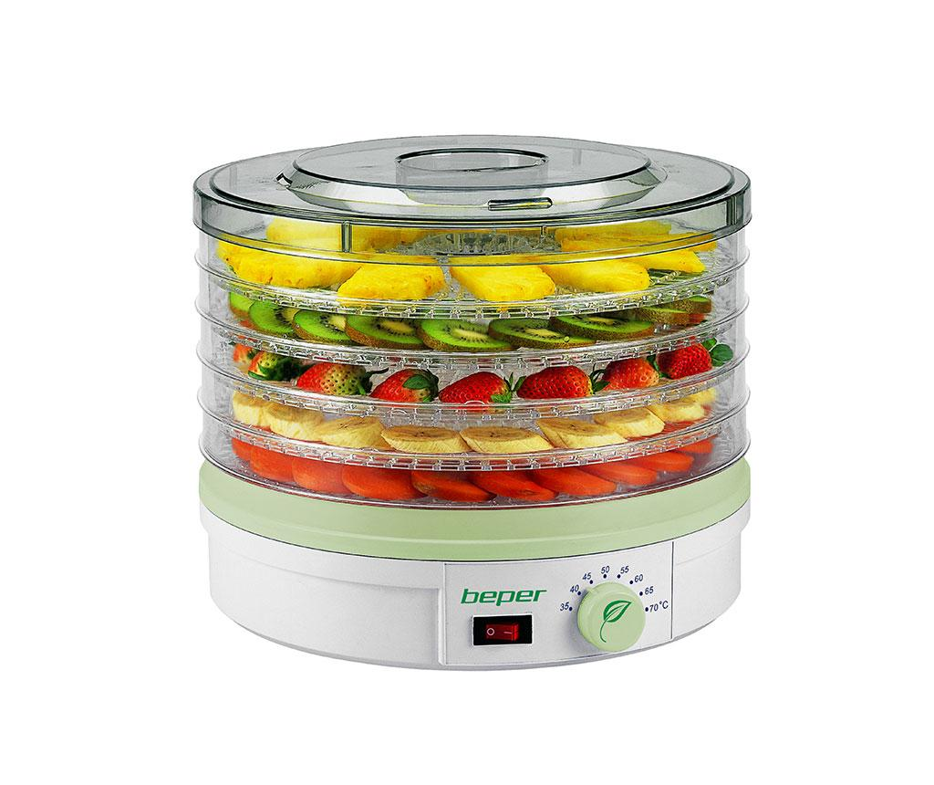 Deshidrator pentru fructe Delight - Beper, Alb,Multicolor