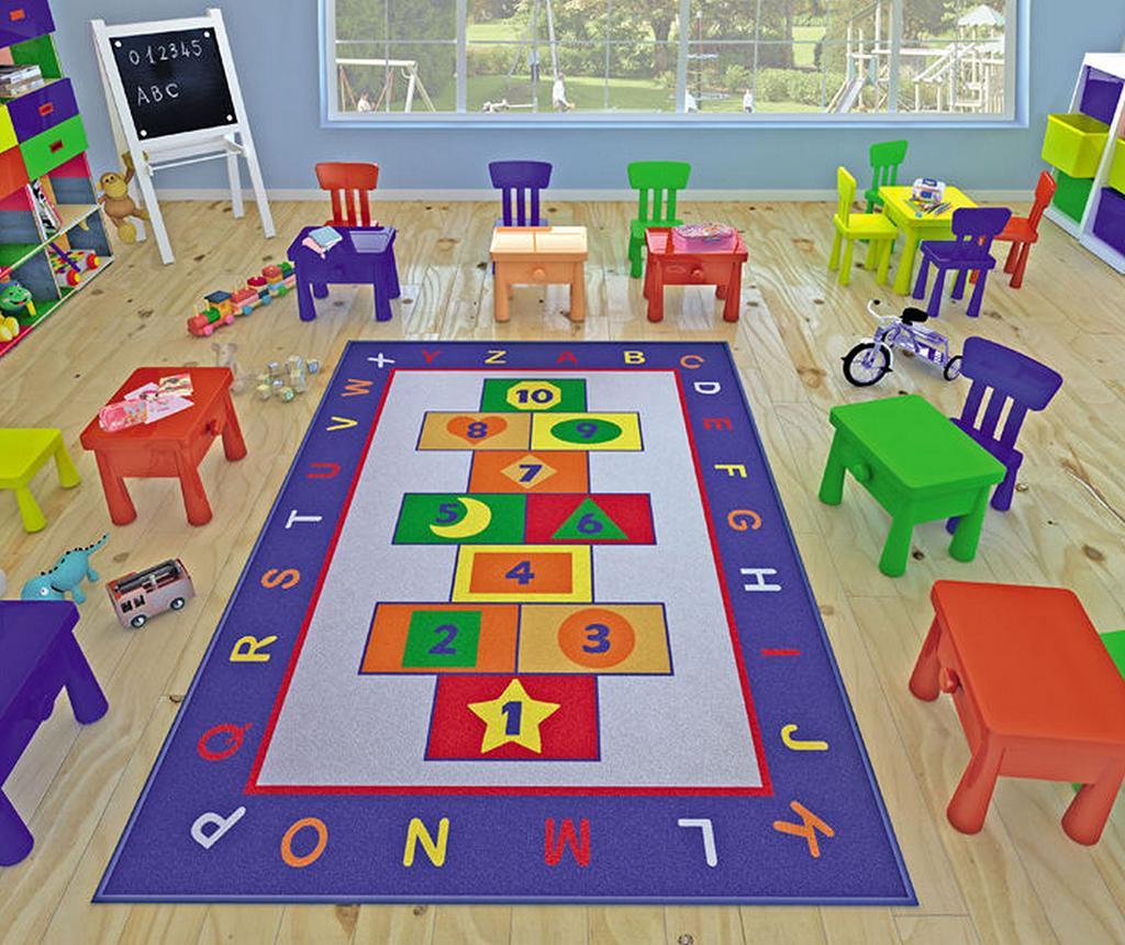 Covor de joaca Hopscotch Game 100x150 cm vivre.ro