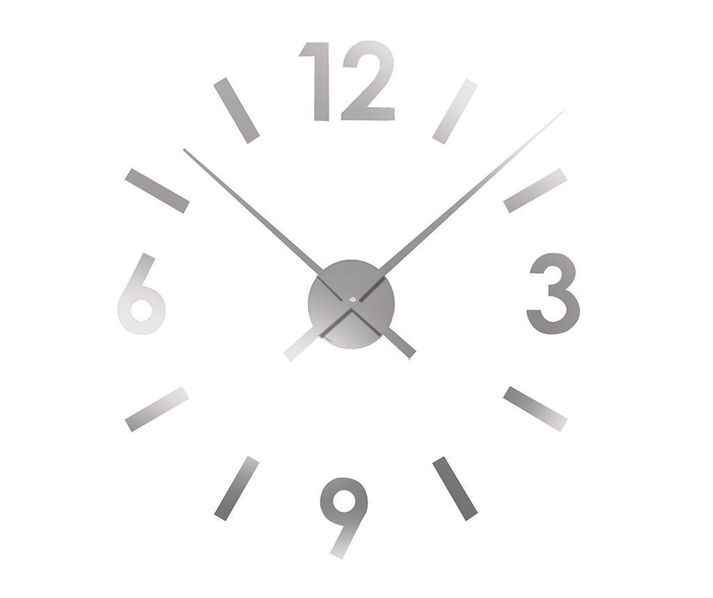 Sticker ceas de perete Time Grey imagine