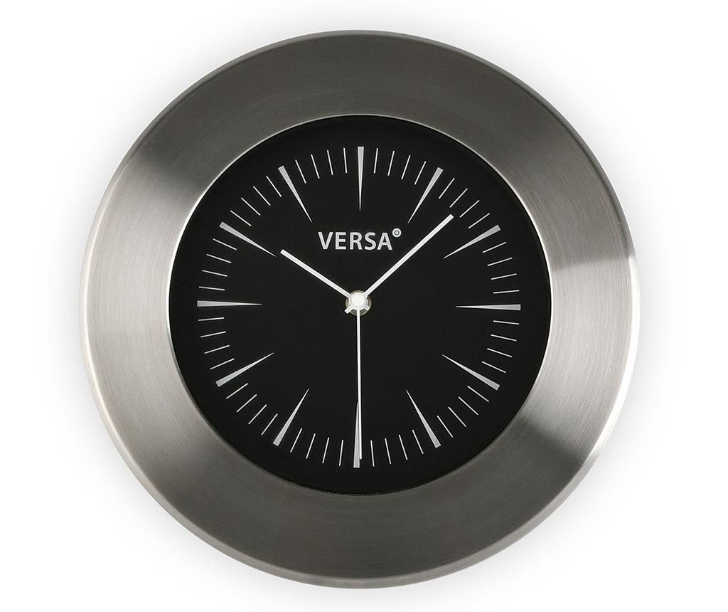 Ceas de perete Velma Black - Versa, Negru poza