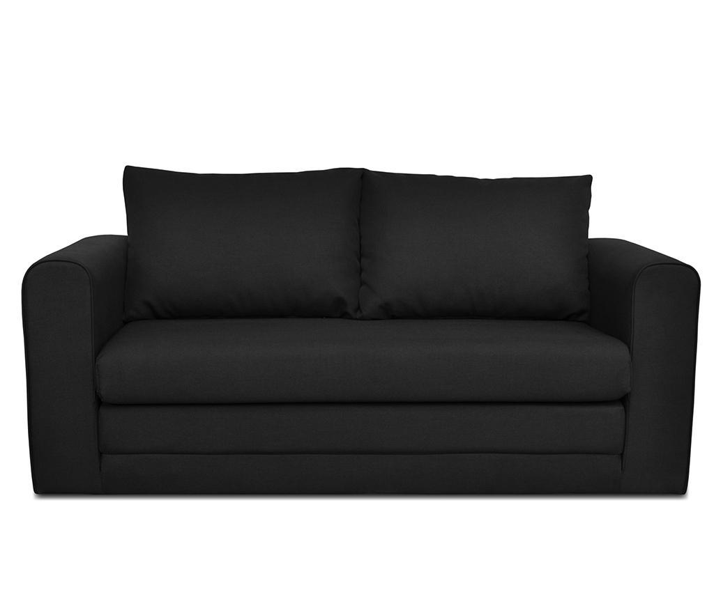 Canapea Extensibila 2 Locuri Honolulu Black