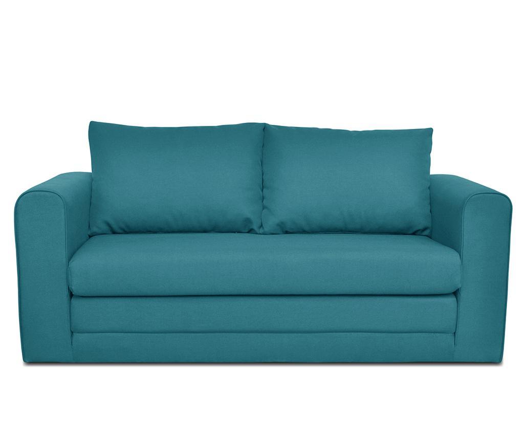 Canapea Extensibila 2 Locuri Honolulu Turquoise