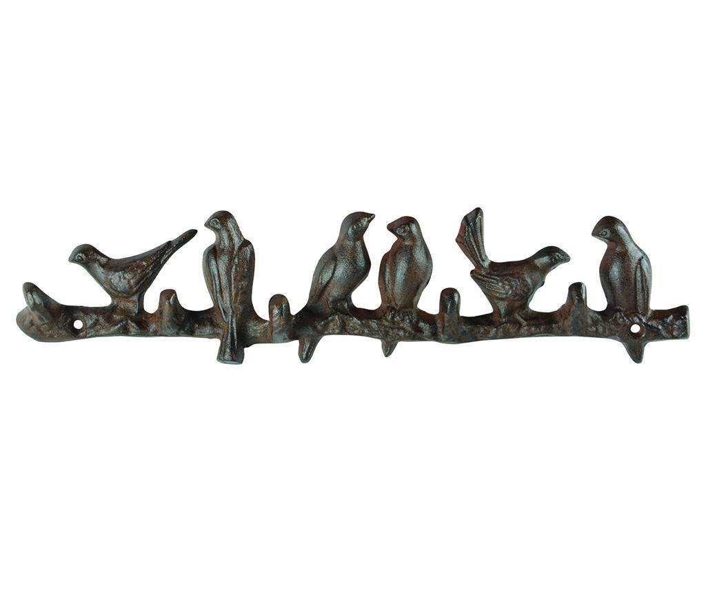 Cuier Birds - Esschert Design, Negru