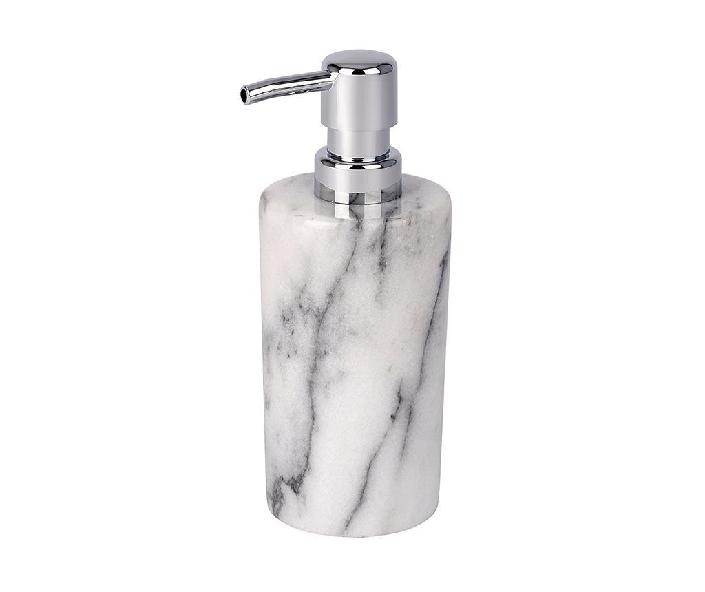 Dispenser sapun lichid Onyx 230 ml - Wenko, Gri & Argintiu de la Wenko