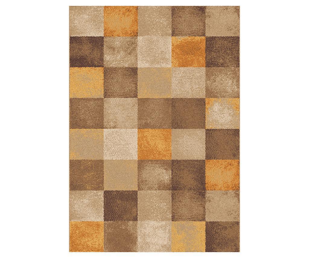 Covor Amber Squares Beige 190x280 cm - Universal XXI, Crem,Maro