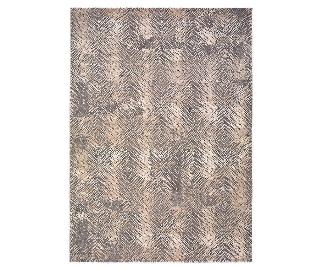 Covor Atik Diamonds Grey 120x170 cm - Universal XXI, Gri & Argintiu imagine