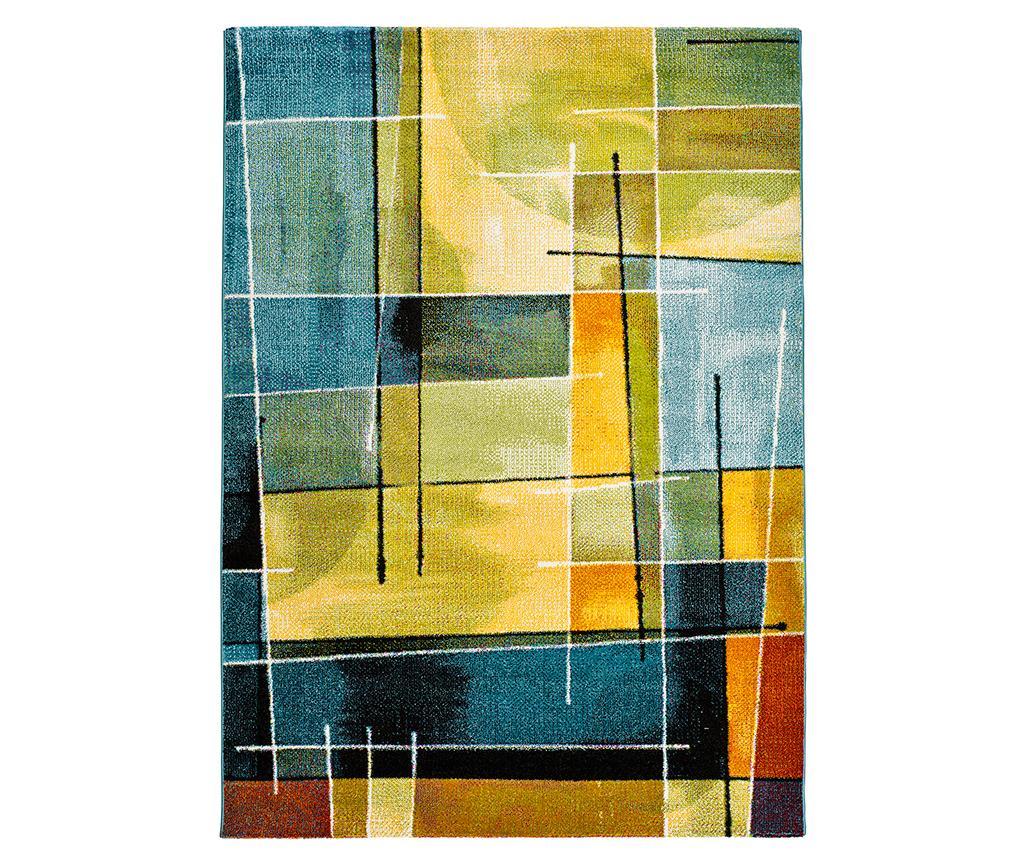 Covor Lenny Abstract 120x170 cm - Universal XXI, Albastru,Multicolor vivre.ro